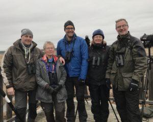 Anders, Stina, Wouter, Ragnhild och Klas. Fotograf: Monica Ahlberg